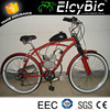 2-stroke 80cc gasoline bike 26inch adult motorcycle bicycle(E-GS102)