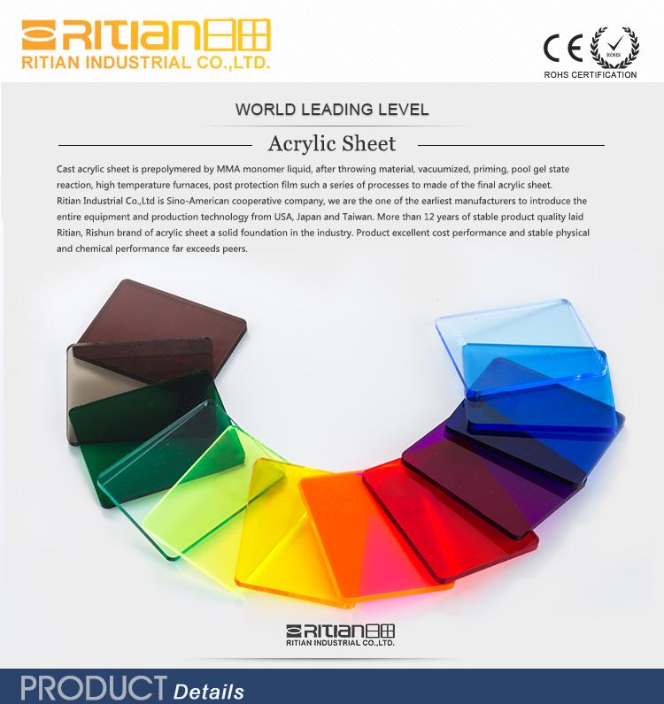 Ясно литой акриловый лист, прозрачный акриловый лист, оргстекла листы