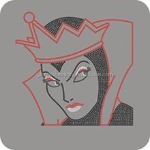 Wicked Queen Iron On Rhinestone Transfer Designs