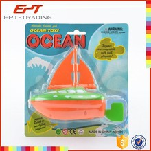 Hot item sailing ship plastic toy sailing yacht toys for sale