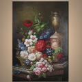 venta al por mayor la decoración clásica pintura para sala de estar