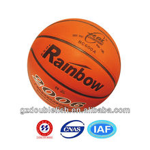 High quality leather basketball non-slip