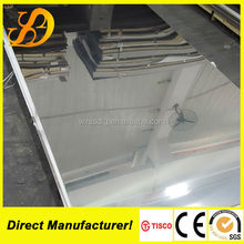 China supply 201 202 no.8 mirror stainless steel sheet/coil