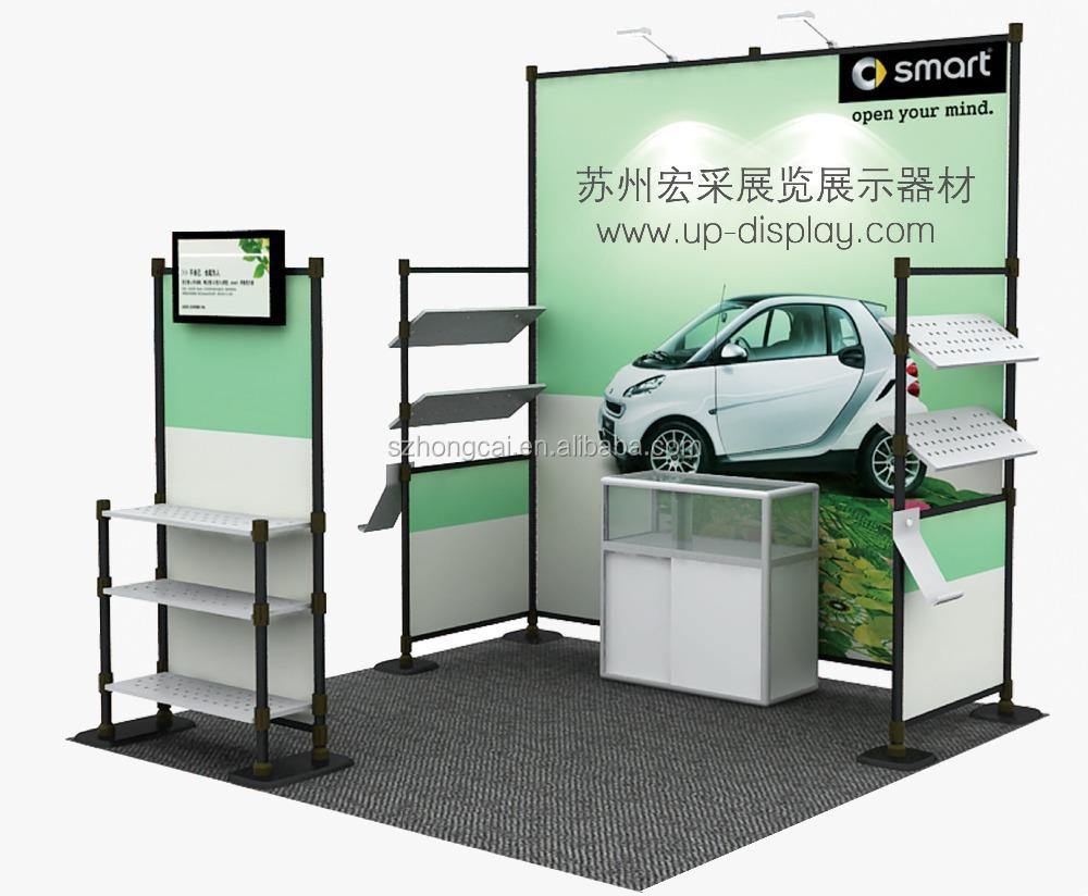 Portable Exhibition Booth Sia : Standard exhibition booth portable