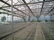 Agricultural glass green house