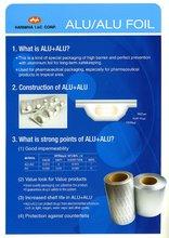 PVC Rigid Film for Alu Alu Cold Formed Foil