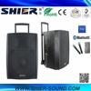 AK15-308 Class AB Amplifier Trolley Waterproof Audio Speaker Bluetooth With Trade Assurance
