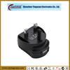 6W CE BS1363 certification wall-mounted adapter 5V 1000mA AC DC power adaptor