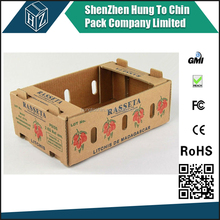 Drop shipping cardboard boxes vegetables brown paper box