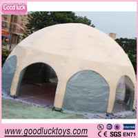 China Manufacture Sun shelter Party tent Event supply Advertising Inflatable dome tent