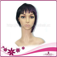 ultra glam deluxe short spike synthetic braided wigs