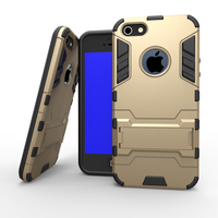 2015 Hot Selling Rugged Hybrid Cell Phone Case For Apple iphone 5,2 IN 1 Protective Case For iphone 5