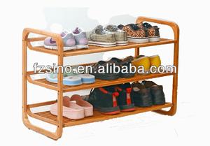 бамбука башмаки стула стиль ikea шкаф ботинка ботинок полке обувь табурет