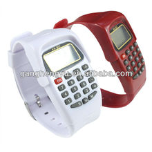 electronic wristwatch with calculator