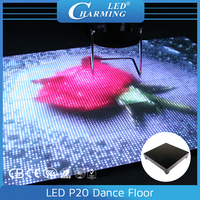 P20 waterproof cover illuminated dance floor for banquet hall