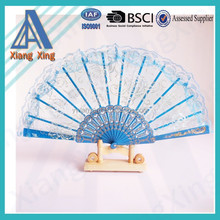 chinese folding hand fan various color for weddings hand fan for dancer