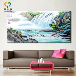 waterfall paintings acrylic waterfall oil painting water fall paintings