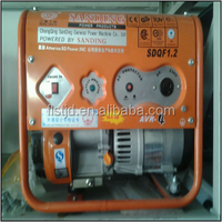hot sell manual type 3kw portable gasoline generator