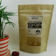 Gusset snack packaging paper bag/ food packaging paper bag/Paper food packaging bag