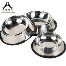 2015 high quality anti skid stainless steel pet/dog/cat bowls for sale