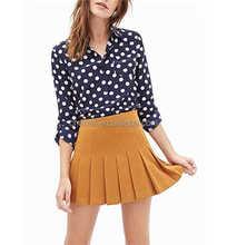 Vogue Polka Dots Chiffon Shirt