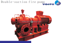 Double-suction fire pump