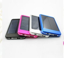 2015 new product portable mobile phone waterproof solar power bank charger 50000mAh