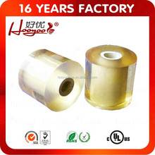 PVC stretch film for wrapping calble and wire