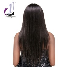 100% NO chemical processed natural human hair wigs, factory wholesale hair topper wigs