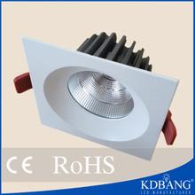 China supplier square LED downlight COB 40w spot light led
