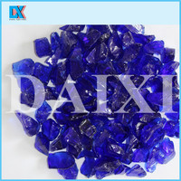 Decorative colored countertops glass chips