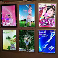 poster snap jewelry photo light box led lighting poster