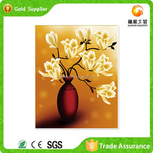 Decor Painting Manufacturer Embroidery Kits Mosaic Of Gemstone Magnolia Flower Oil Painting