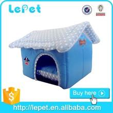 Factory wholesale novelty indoor plush dog house padded pet house