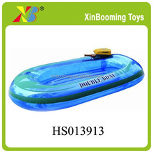 2015 best selling summer toys inflatable motor boat with EN71