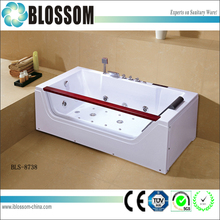 2015 best selling nice design bubble corner hydro whirlpool massage bathtub
