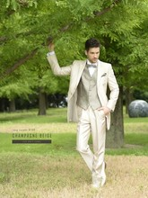 New style wedding suits for men RM1537 3 piece coat pant blazers for men tuxedos tailor made wedding suits for men