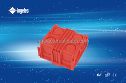 ingelec brand large plastic waterproof boxes customized aluminum die cast quality junction box with terminal