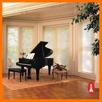 Curtain times sunroom sheer blinds electric shangri-la blinds design