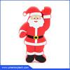 Custom logo flat flash drive Santa Claus shaped wholesale flash drive usb pen drive