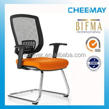 modern mid back comfortable mold foam office/conference/school furniture with arm