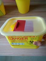 Medical Safety Sharp Waste Plastic Box