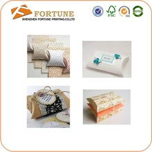Multi-color Eco-friendly small pillows for crafts,pillow box packaging,window pillow box