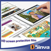 Factory supply OEM HD ultra clear screen protector for new Retina ipad mini 2 with sensitive touch