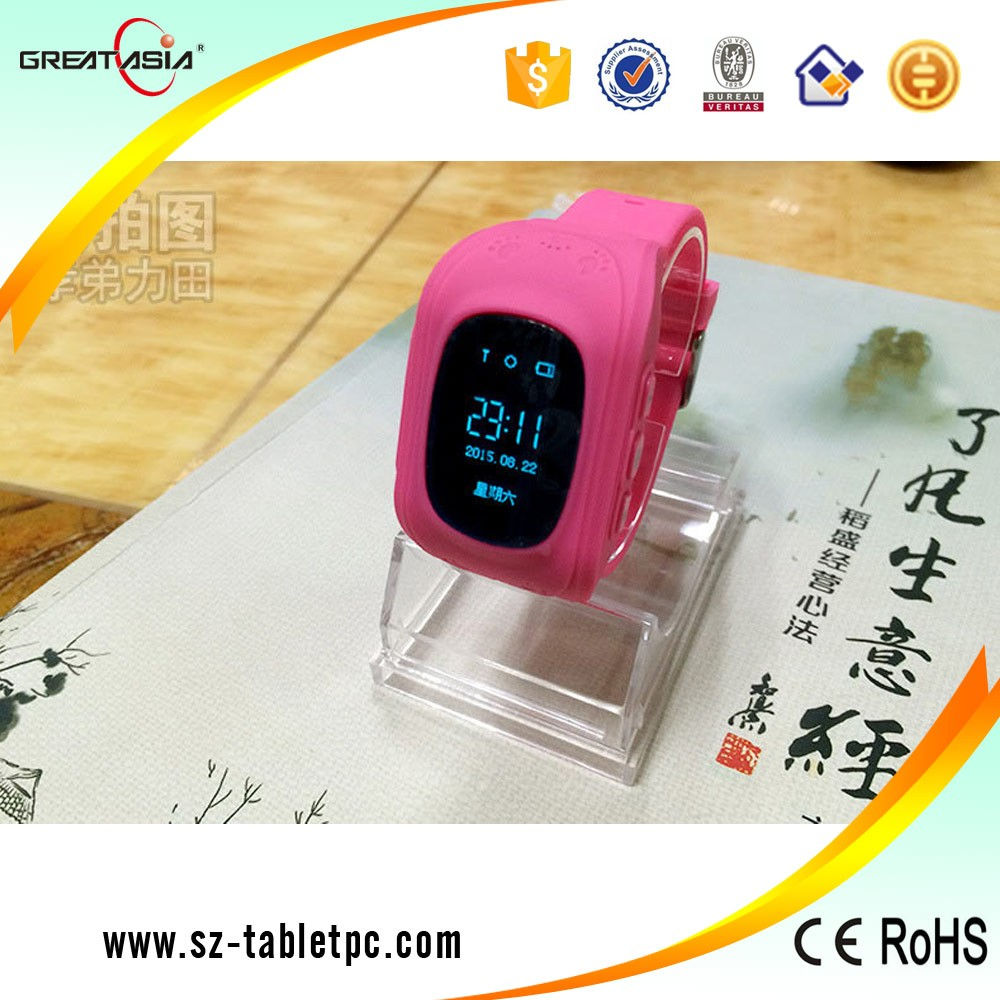 Q50 Kids Gps Security Tracker Smart Watch With Sim Card Slot Sos Smartwatch For Black Mobile Phone