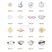 2015 Trendy DIY Charm Bracelet Latest Charm Leather Bracelet