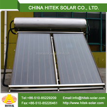 Solar thermal system integrated solar water heater