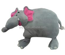 sofa decoration stuffed elephant shape toy plush cushion / stuffed plush chair cushion / plush soft animal shape baby pillow