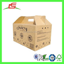 Q1335 China Supplier Sales Mini Corrugated Cardboard Pet Carrier With Customized Printed