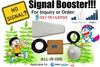 All-In-One Globe & Smart & Sun Signal Booster / Repeater / Amplifier